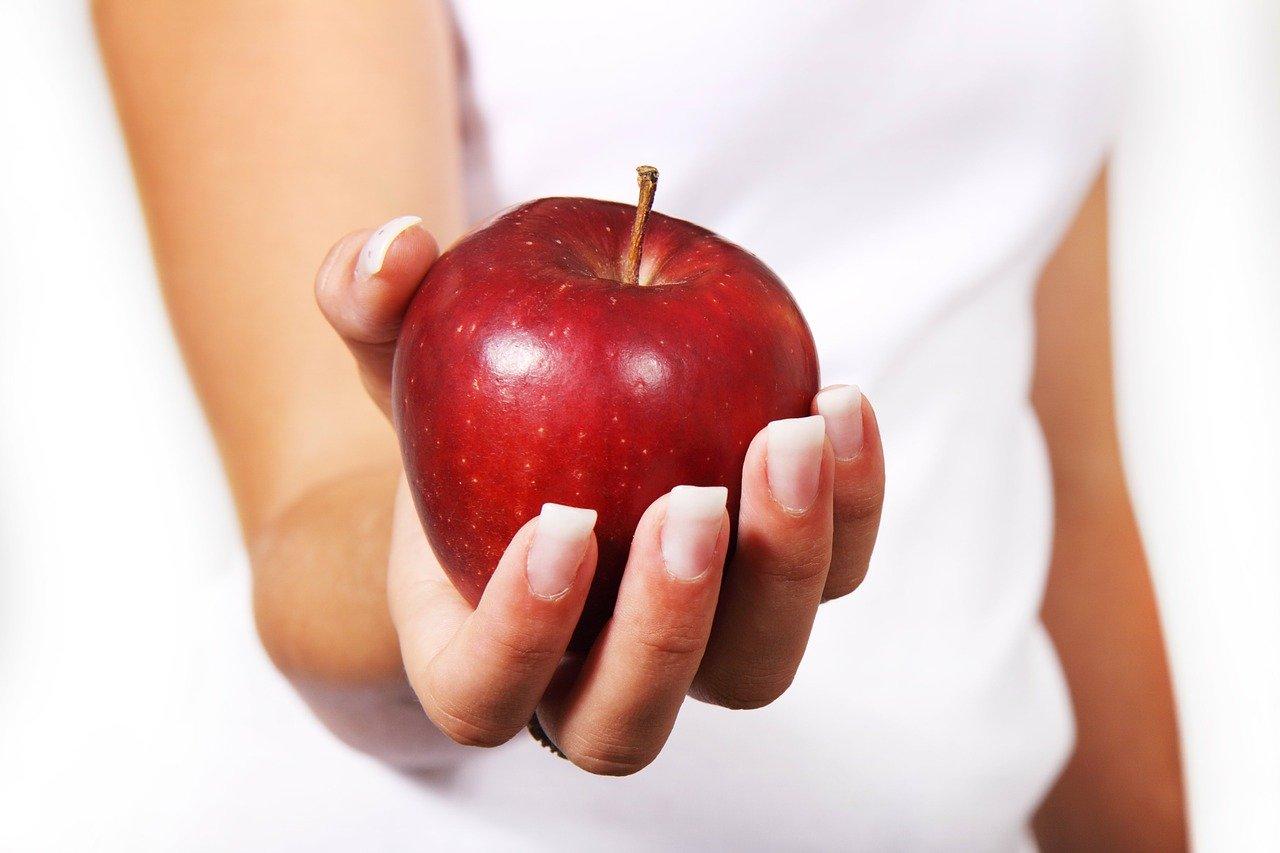 apple, diet, female