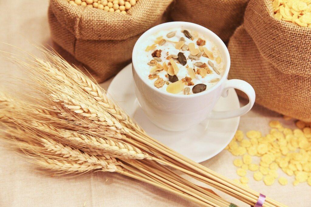 cereals, cup, muesli