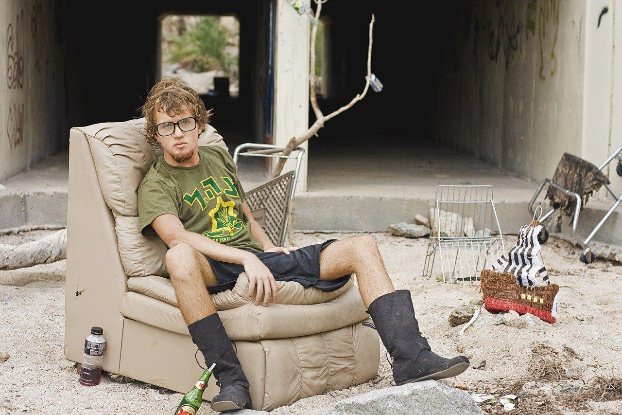 man, homeless, homeless man